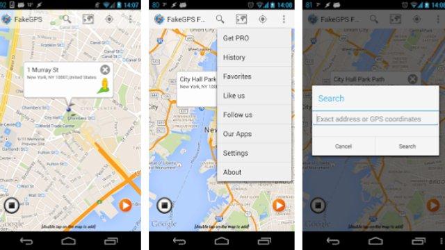 Fake GPS Go Location Spoofer