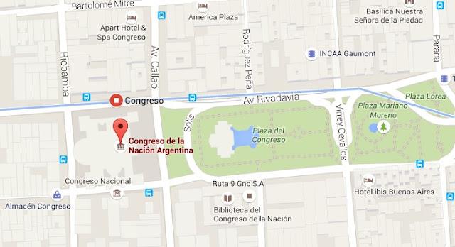 Pontos Turísticos Buenos Aires Congreso