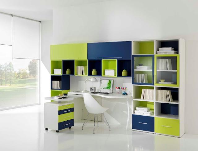 Chambre ado garcon design for Chambre garcon couleur