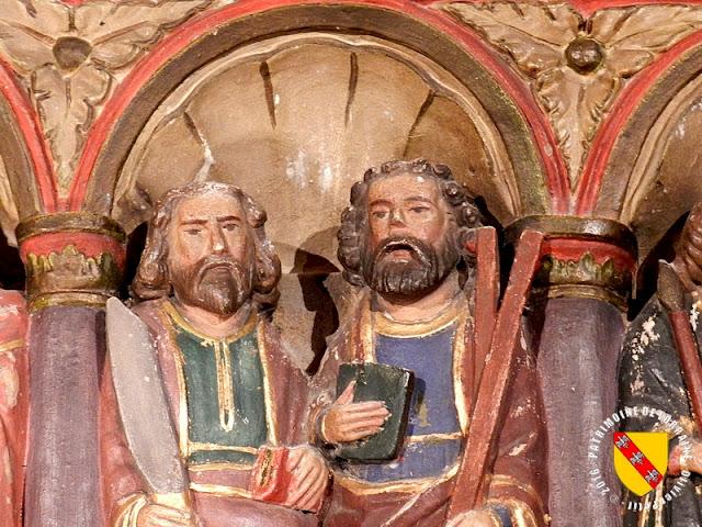PAREY-SAINT-CESAIRE (54) - Retable renaissance (1520-1530)