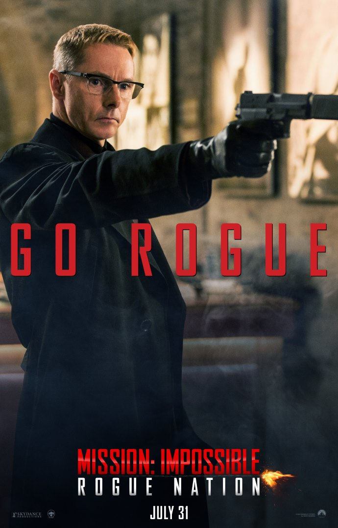 Poster 7: Mission Impossible - Rogue Nation