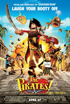 The Pirates Band of Misfits 3D Animation Movie Poster