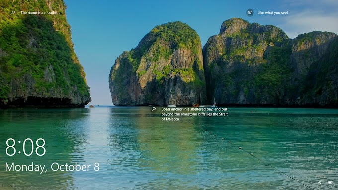 Set Windows spotlight as desktop background (Download Spotlight All Background Photo)