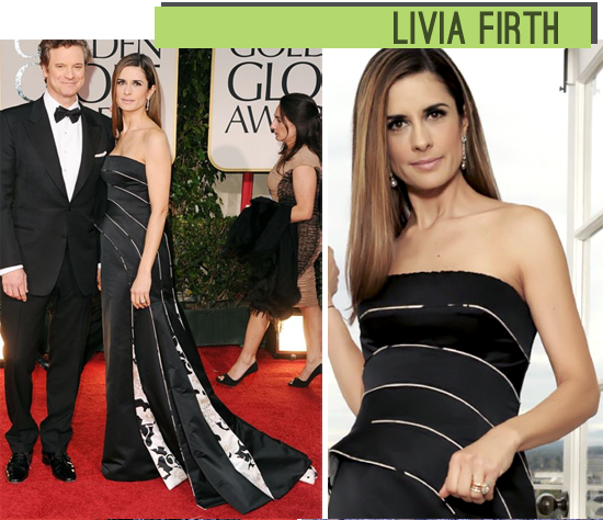 Livia Firth Golden Globes