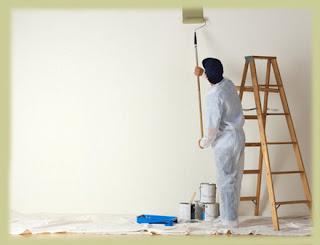 Pintando parede lisa