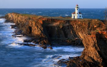 Wallpaper: Cape Arago Lighthouse