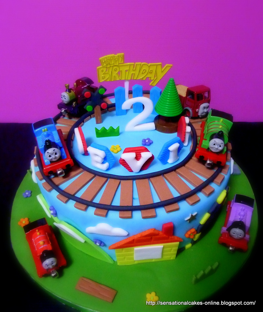 Cakes2share Singapore Thomas Train Percy 3d Train