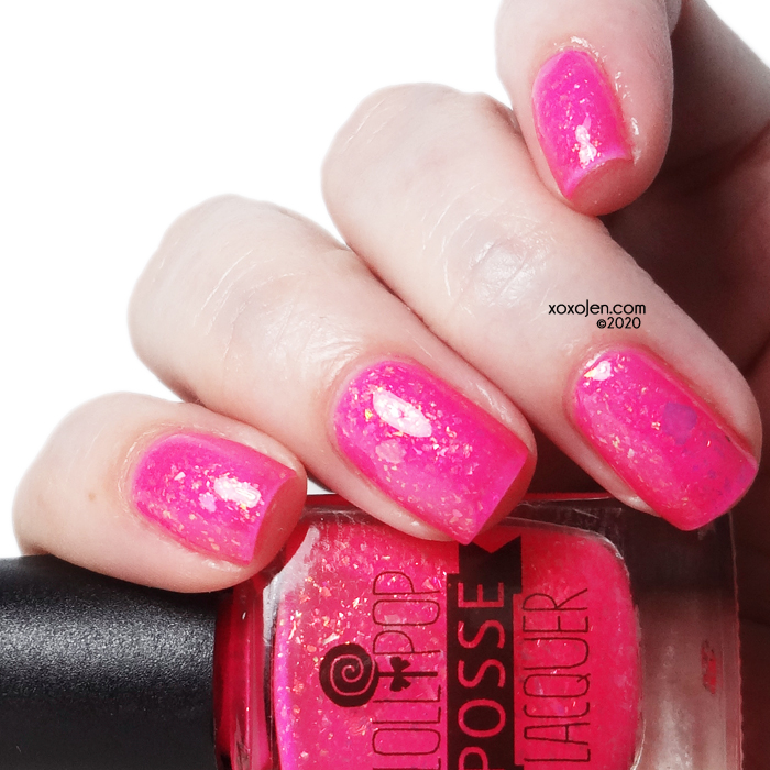 xoxoJen's swatch of Lollipop Posse Oh Frabjous Day
