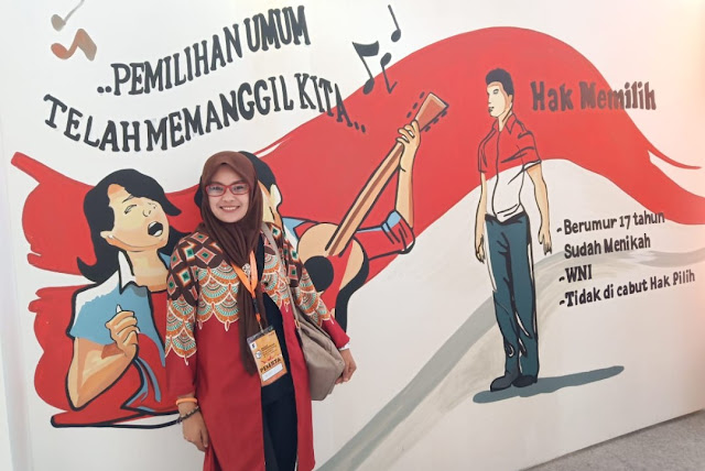 Hadir di KPI, KPU Tana Toraja Ajak Perempuan Tentukan Pilihannya di Pemilu 2019, Bukan Ikut Pilihan Suami