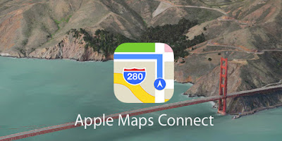 Planes Apple Maps