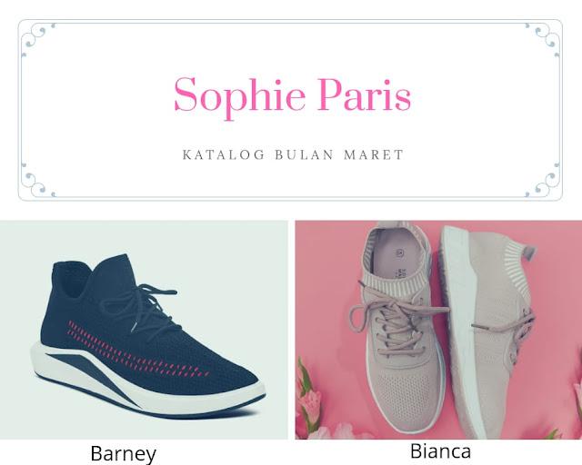 Koleksi sepatu Sophie Paris