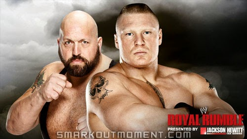 Big Show vs Brock Lesnar 2013 Royal Rumble WWE PPV