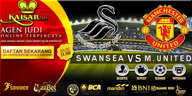 PREDIKSI TEBAK SKOR JITU LIGA ENGLISH LEAGUE CUP SWANSEA VS MANCHESTER UNITED 25 OKTOBER 2017