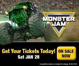 Monster Jam Promo Codes December 2018