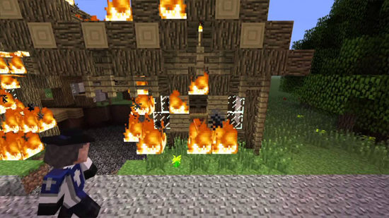 Great Fire Of London Minecraft Map And Video - Minecraft maps fur mac