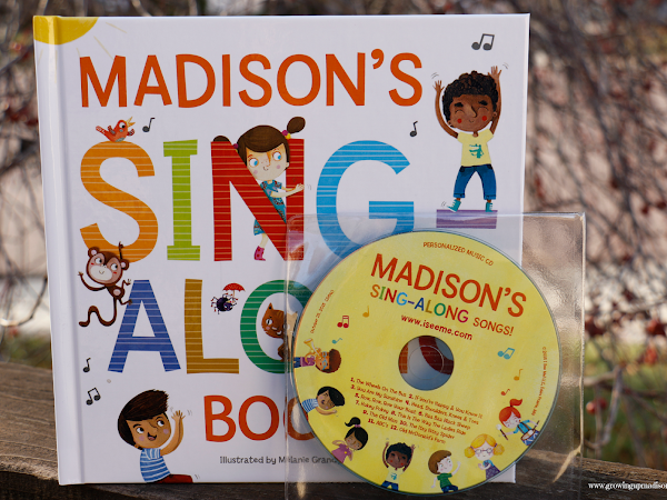 My Sing Along Songs Personalized Book & CD