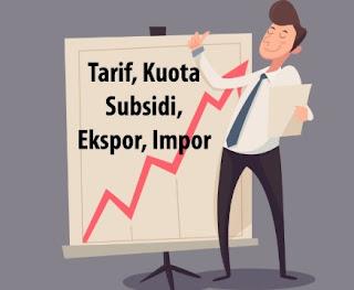 Adanya Penerapan Tarif dan Pembatasan Impor
