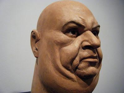 Esculturas de cabezas