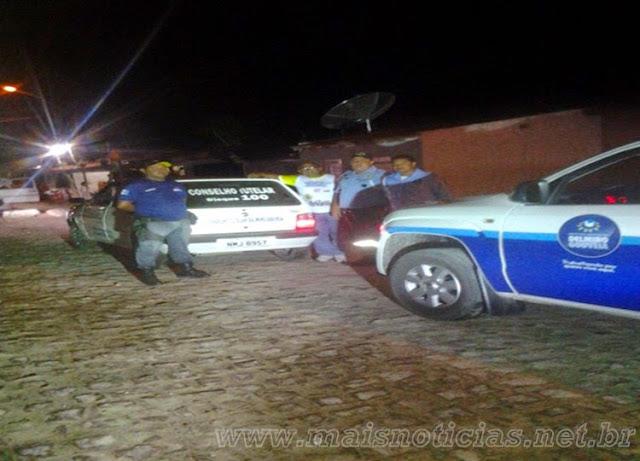 Agentes da SMTT encontram garota que estava perdida em Delmiro Gouveia