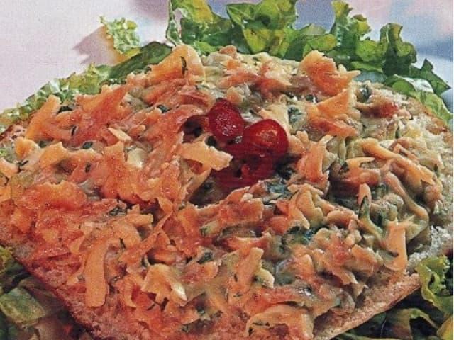salada de pão sirio