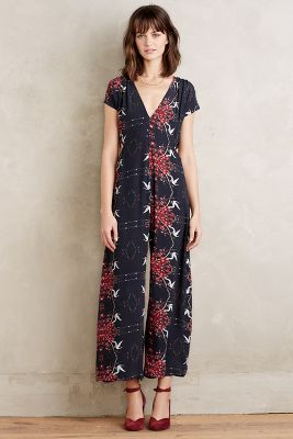 bohemian jumpsuit from Anthropologie new arrival women's clothing