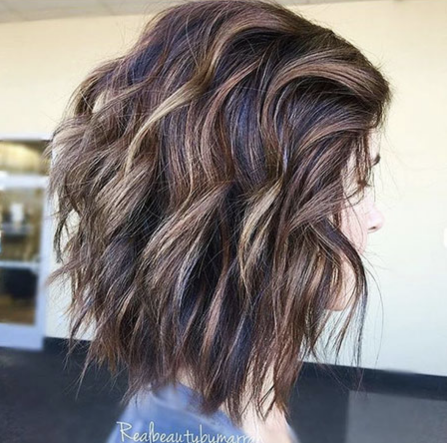 layered bob hairstyles for woman - latesthairstylepedia