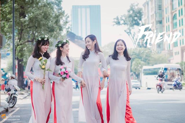 các kiểu áo dài đẹp nhất cho sinh viên
