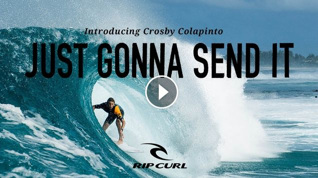Introducing Crosby Colapinto Just Gonna Send It