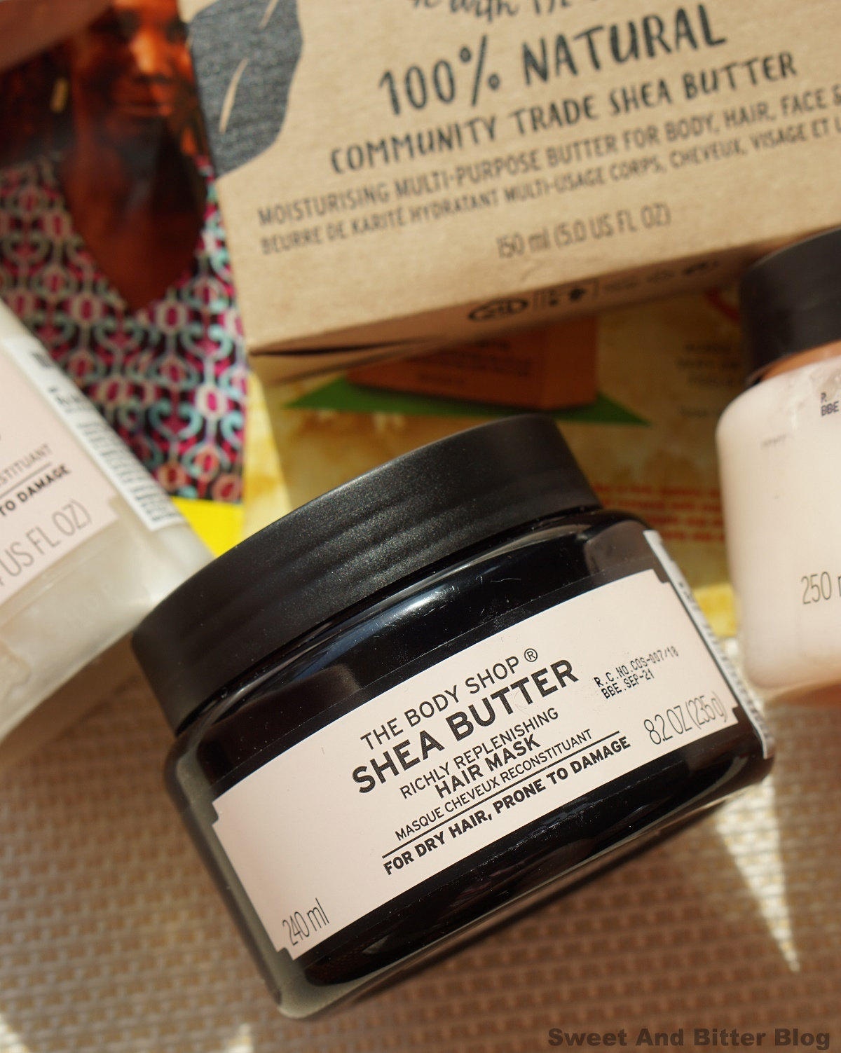 The Body Shop Shea Richly Replenishing Hair Mask Review India