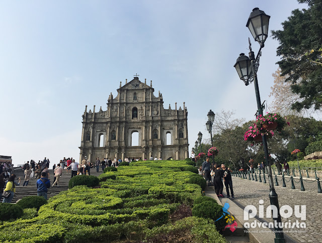 The Ruins of Saint Pauls Macau China