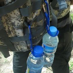Купить карабин с держателем для бутылки