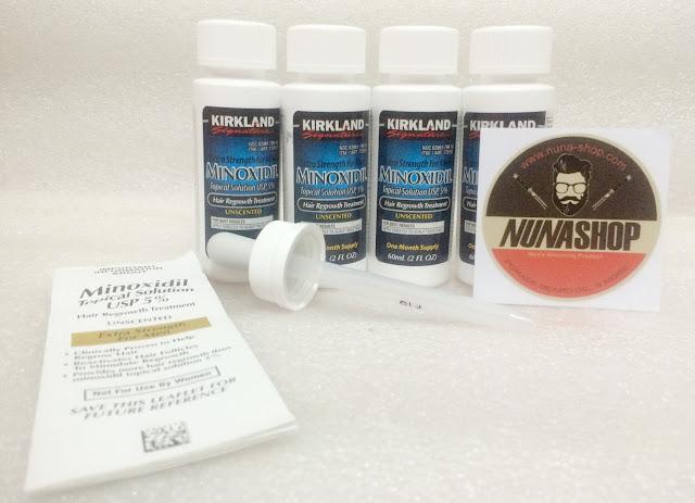 Jual KIRKLAND SIGNATURE Minoxidil Obat Penumbuh Rambut Terbaik