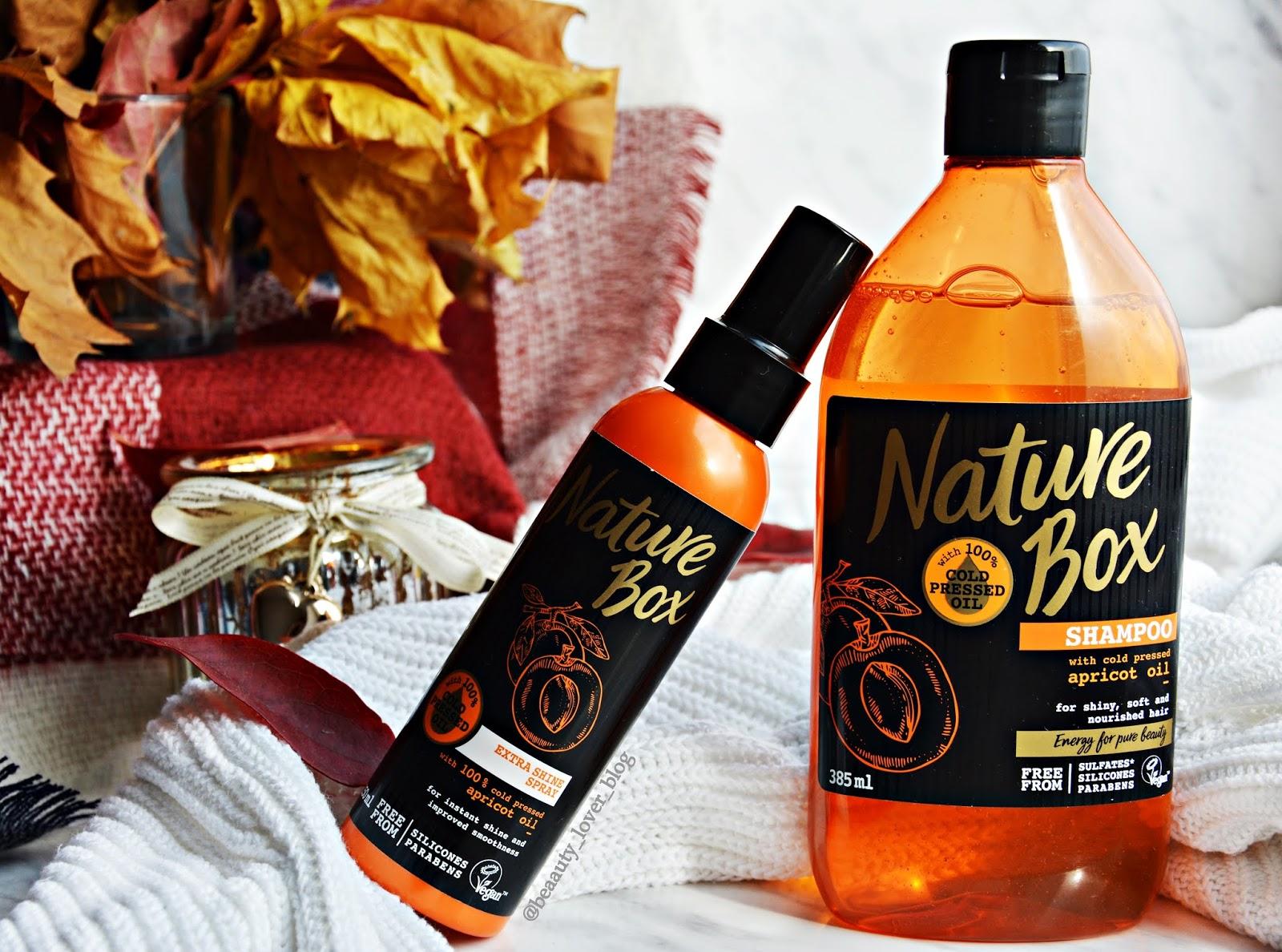 Nature Box z olejem z moreli- analiza składu + recenzja