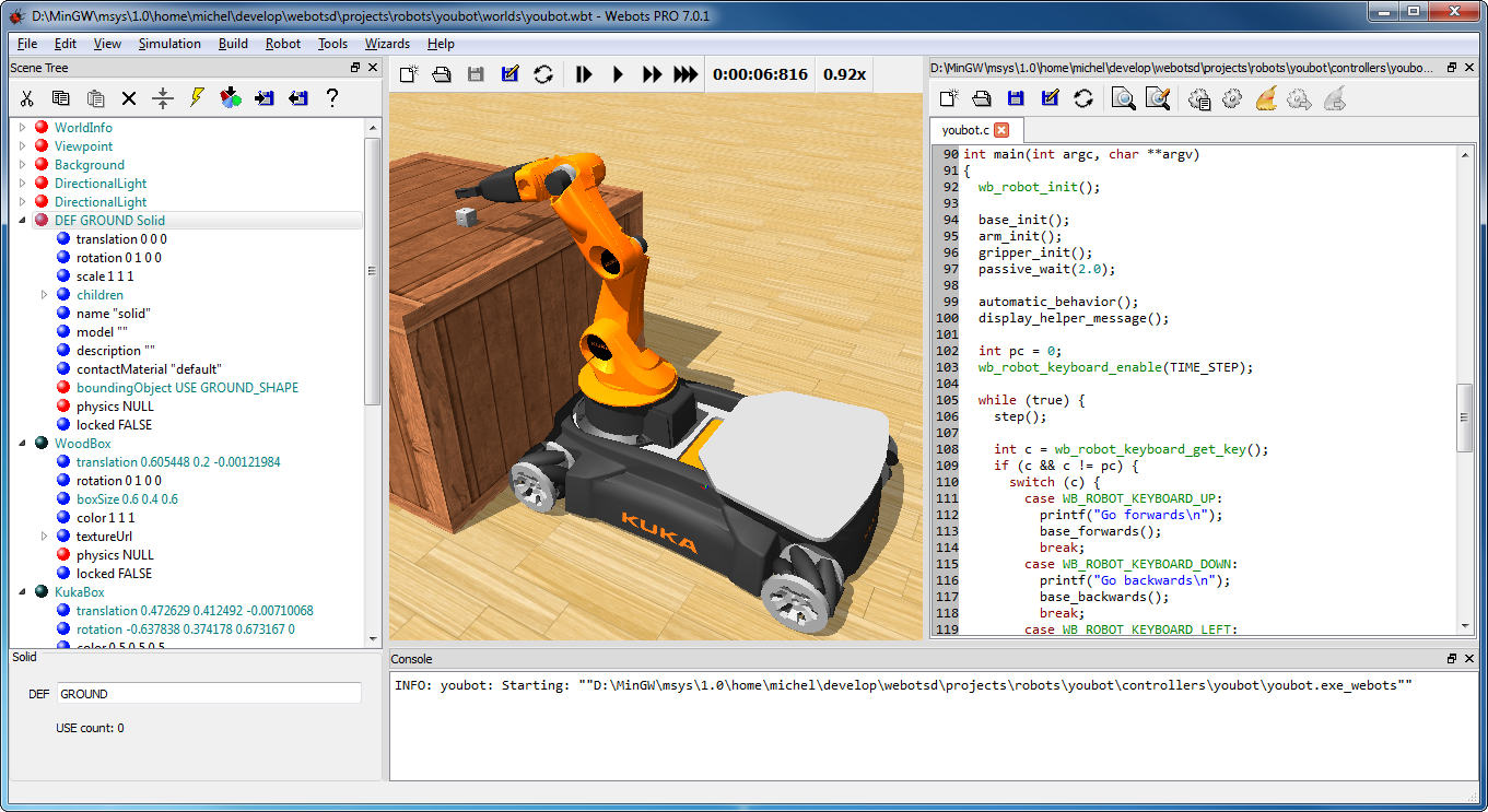 Omni Software Cyberbotics Webots Ver 854 Pro Download Full Cracked Java Breadboard Simulator This Is How You Can Use The Program A Development Environment Used To Model And Simulate Mobile Robots With User Design Complex Robotic Setups