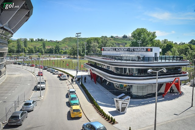Galerie - Vardar eröffnet neue Fußball Akademie