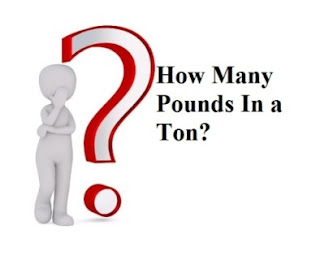 how many pounds in a ton