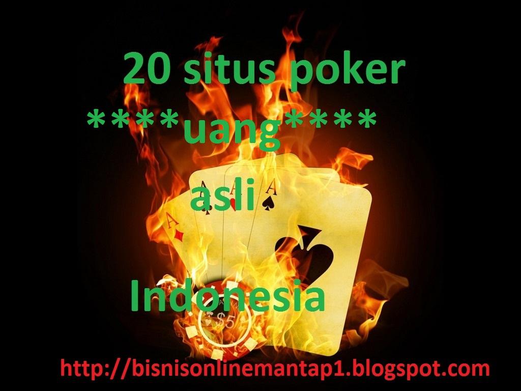 Situs Poker Uang Asli Indonesia Situs Poker Line Uang Asli