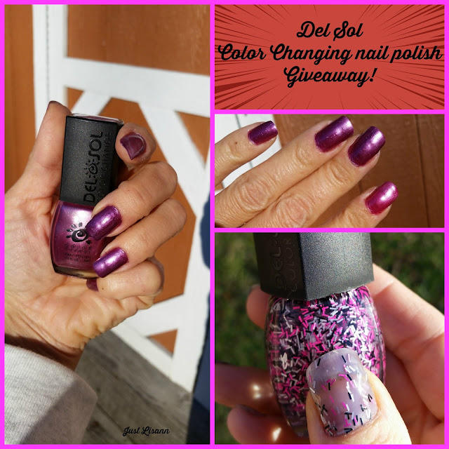 Del Sol color changing nail polish giveaway