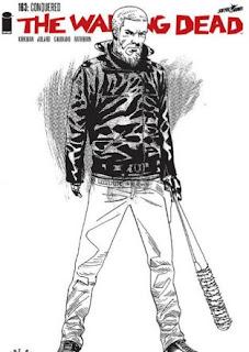 Capa edição 163 da HQ revela eventual futuro de Rick e Negan em The Walking Dead