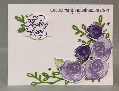 Stampin' Up! Frosted Floral, 2018 Holiday Catalog, www.stampingwithsusan.com
