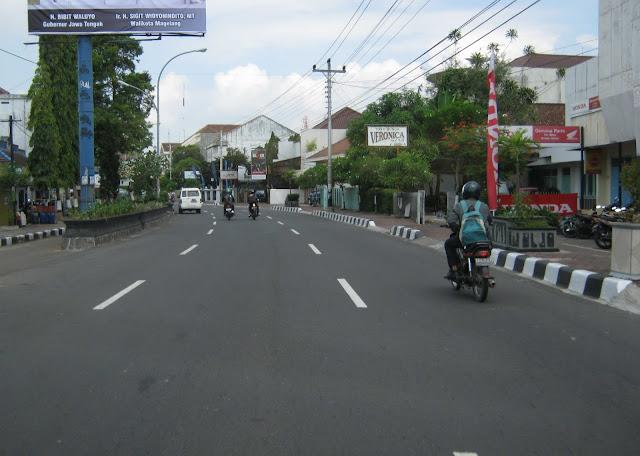 KabarMGL - Ilustrasi Ruas Jalan Kota Magelang