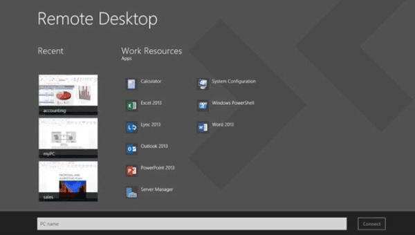 login in to windows server 2012 r2 via remote desktop