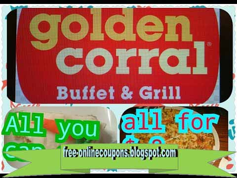 coupons for golden corral august 2019