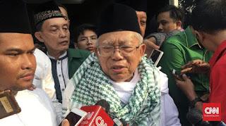 Berita Terhangat Saat Ditanya Wacana Rizieq Shihab, Pengawal Ma'ruf Amin Memukuli Tangan Wartawan