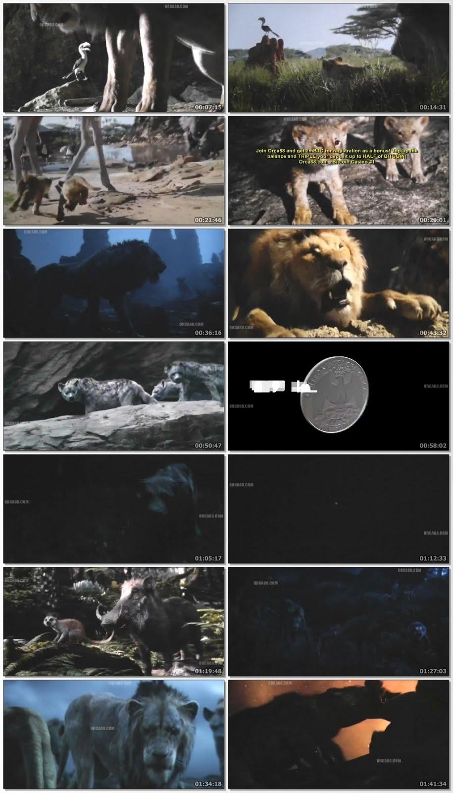 The Lion King 2019 Dual Audio Hindi 480p New HDTCRip 400MB