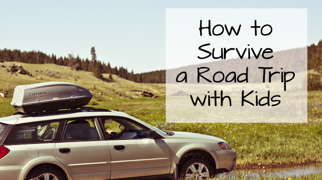 How to Survive a Road Trip with Kids -- All of the best car trip activities for kids, from a family of 8 who does it every summer. This is a must-read if you're considering a road trip this summer.  {posted @ Unremarkable Files}