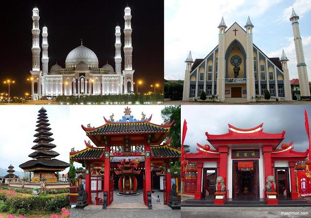 Inilah 6 Agama yang resmi dan diakui di Indonesia