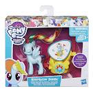 MLP Royal Spin-Along Chariot Rainbow Dash Brushable Pony