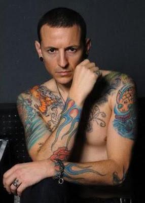 Chester Bennington tatuajes
