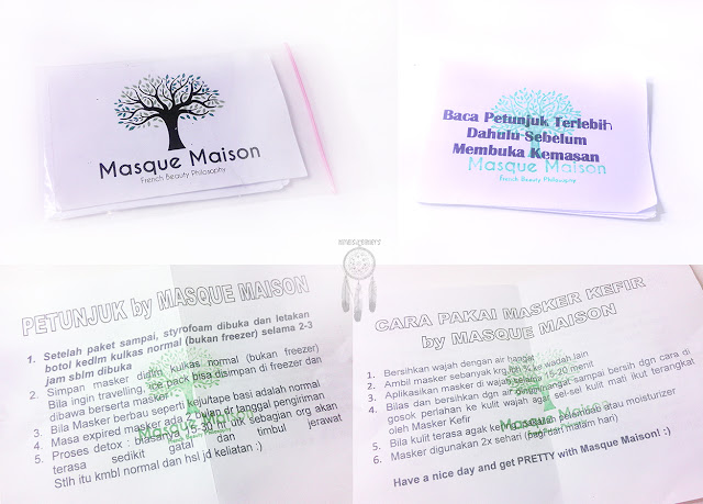 Review: Masker Kefir by Masque Maison